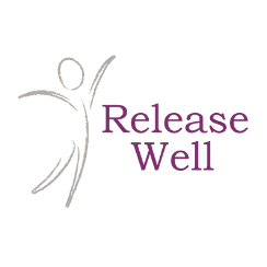 Logo bedrijf Release Well massagetherapeut